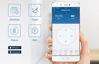 Ecovacs M80 pro smartphone control