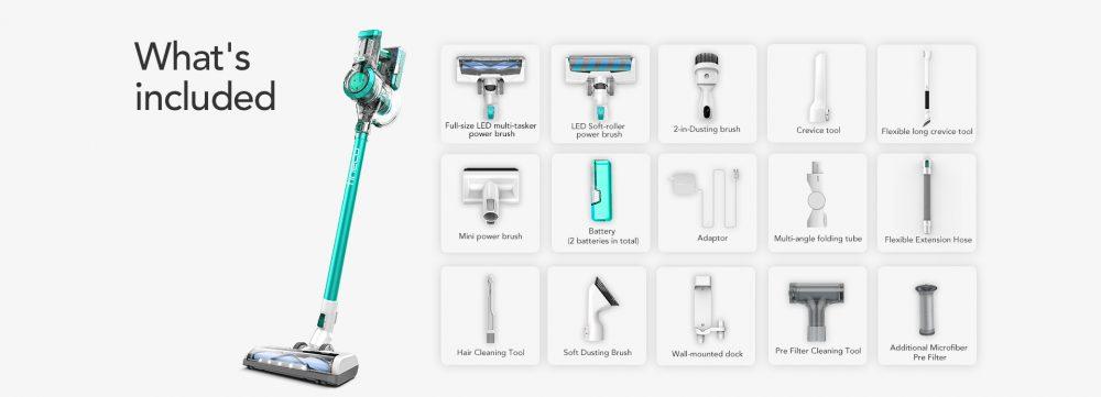 Tineco A11 Master tools