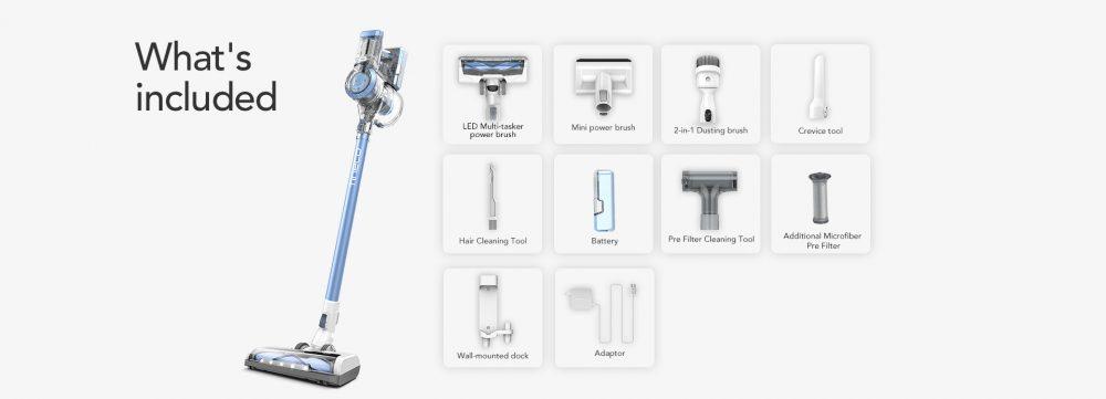 Tineco A11 Hero tools