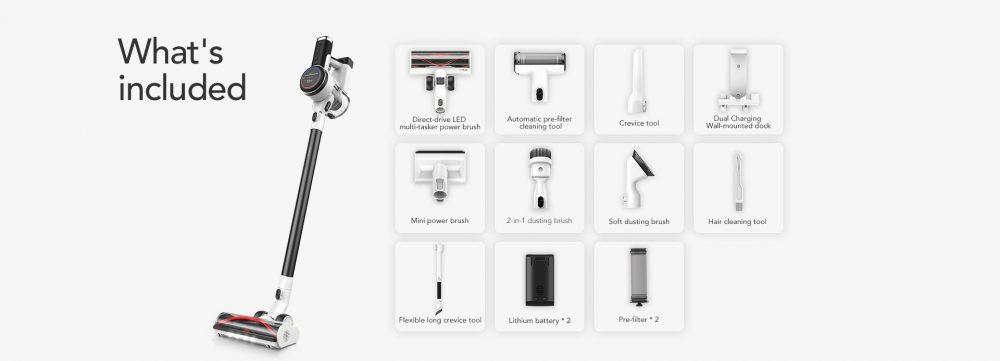 Tineco Pure One S12 tools